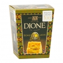Dione hard cheese cranberry ice cream - Ice cream with ripened cheese in co-branding. With 18 month-ripened DZIUGAS cheese. Gluten and preservative-free. Special edition to celebrate the Centennial of the restored state of Lithuania. In sophisticated pack.<br><br>Selected for the recipe of ice cream with 18-month aged cheese.<br>
