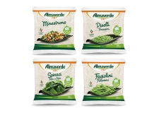 Frozen vegetables - Frozen organic vegetables in a compostable bag. 100% Italian vegetables.<br><br>Selected for the compostable pack.<br>