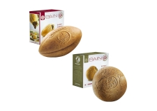 Pains originaux - Natural filled bread with fun shape. Baked at very low temperature. No palm oil or GMO's. Pack of 4.<br><br>Selected for the originality of the product's shape.<br><br>