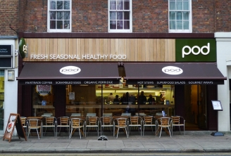 Healthy fast food concept - Pod London