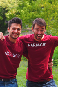 Emmanuel Plisson and Benoît Brehier, co-founders of Hari&Co