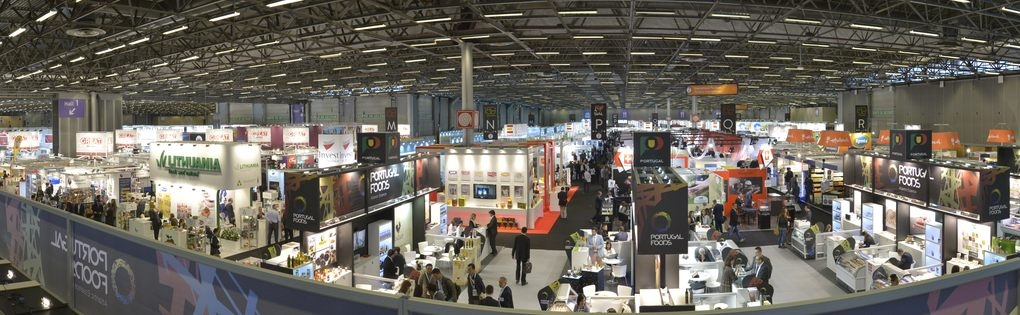 Panoramic view of SIAL Paris 2014