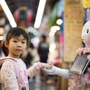 Asian countries show the highest interest in AI and robots