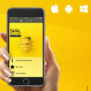 SIAL Paris 2016 mobile application for Android, IOS and Windows Phone