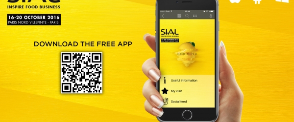 SIAL Paris 2016 mobile application