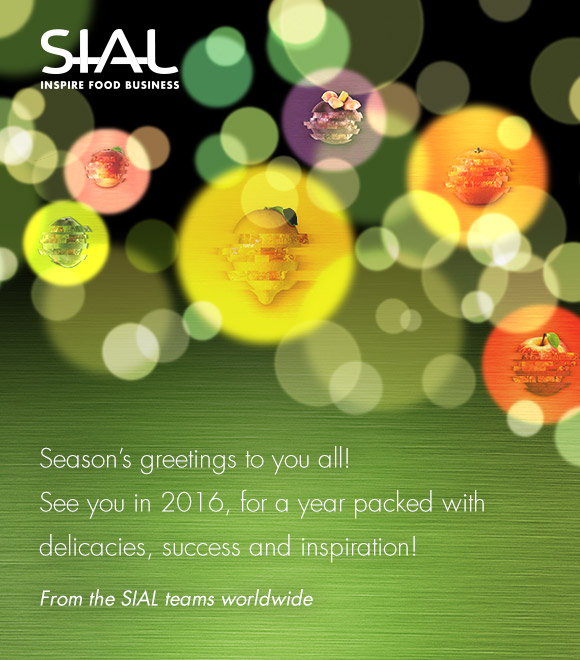 SIAL Paris 2015 Season's Greetings