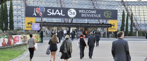 Arrival of visitors - SIAL Paris