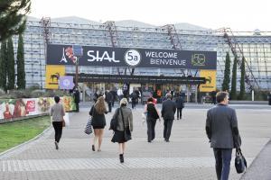 Arrival of visitors - SIAL Paris