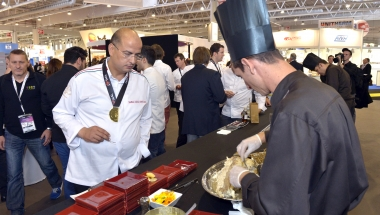 Cooking demonstration at SIAL