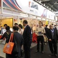 Professionals from distribution represent about half of the exhibition visitors