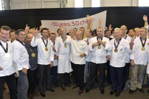 50 years, 50 chiefs - SIAL Paris