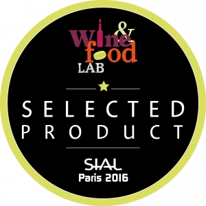 Wine & Food Lab label