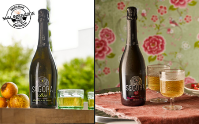 Jardins De L'orbrie offers a Segora tasting cider  whose apples come from an organic variety.