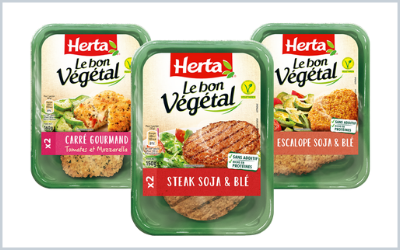 Herta innovates by marketing  first raw veggie steak in a tray