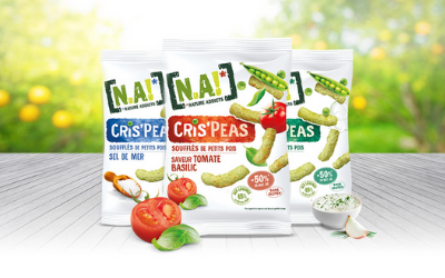 N.A! has launched pop pea snacks to be  enjoyed as potato chips.