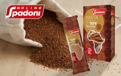 Spadoni has released a gluten-free pasta with  teff flour, a high-fibre cereal