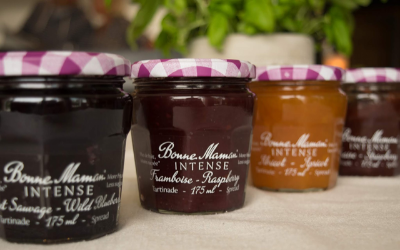 In the jam aisle, Bonne Maman is launching a  new product range containing 30% less sugar  than a classic jam.