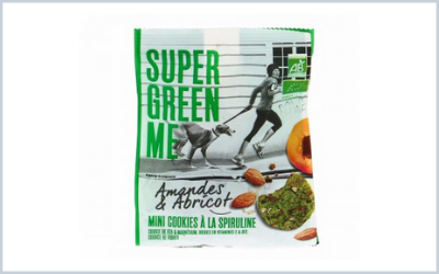 Selected by the SIAL 2018 Innovation Observatory,  the Super Green Me cookies.