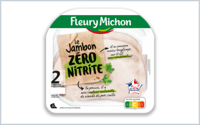 Ham turns to organic and nitrite-free at Fleury Michon